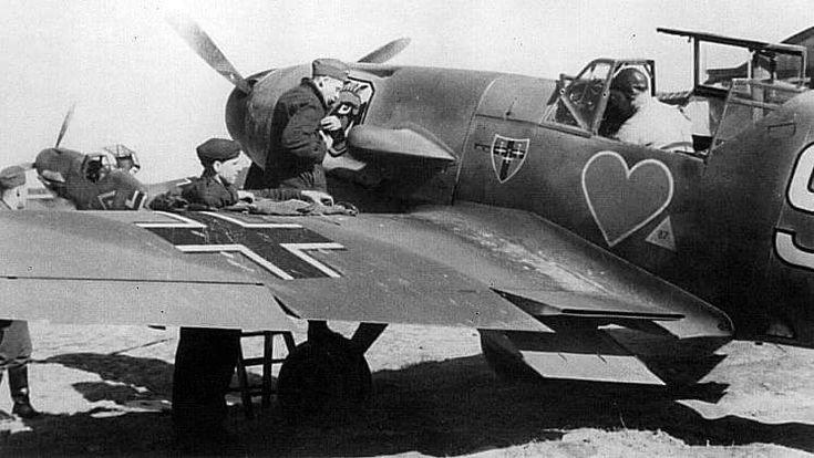 Messerschmitt Bf109 Grünherzgeschwader