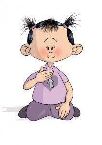 JE T'AIME lsf langue des signes bébé