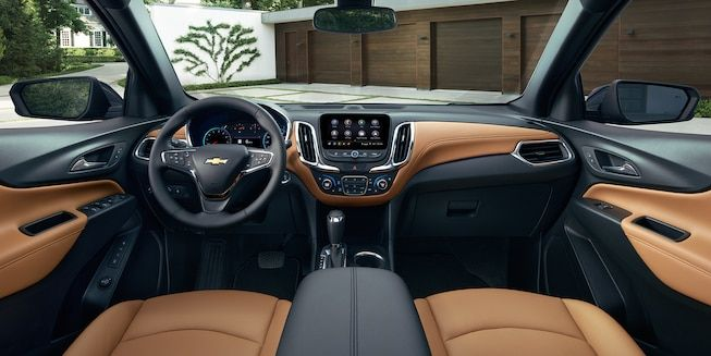 2019 Equinox Small Suv Interior Photo Of The Dashboard Chevrolet