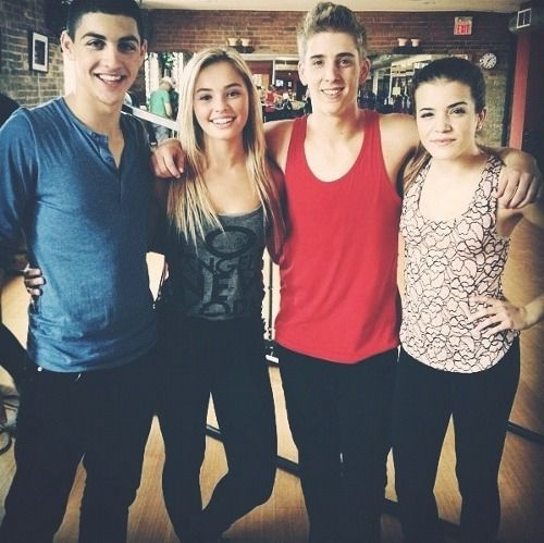 James+ Michele+ Eldon+ Riley from the next step!!