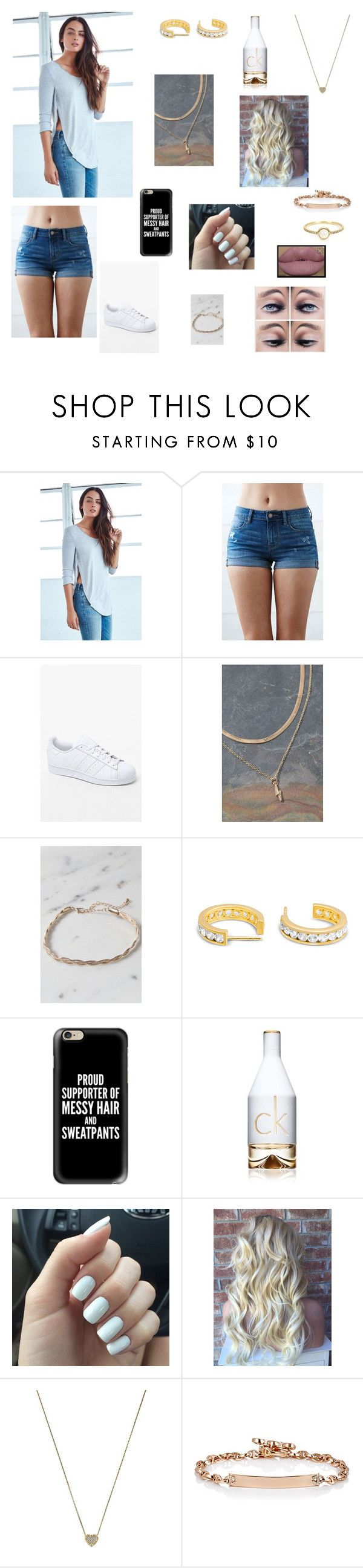 Untitled #218 by katrine-frid on Polyvore featuring Me to We, Bullhead Denim Co., adidas, LA: Hearts, Michael Kors, Hoorsenbuhs, Irene Neuwirth, Casetify and Calvin Klein