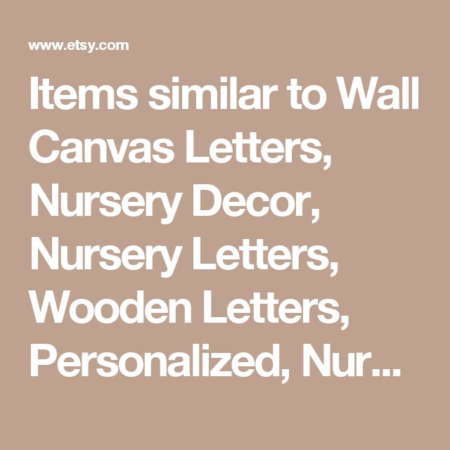 Items similar to Wall Canvas Letters, Nursery Decor, Nursery Letters, Wooden Letters, Personalized, Nursery Art, Navy Blue, Grey and White Chevron on Etsy