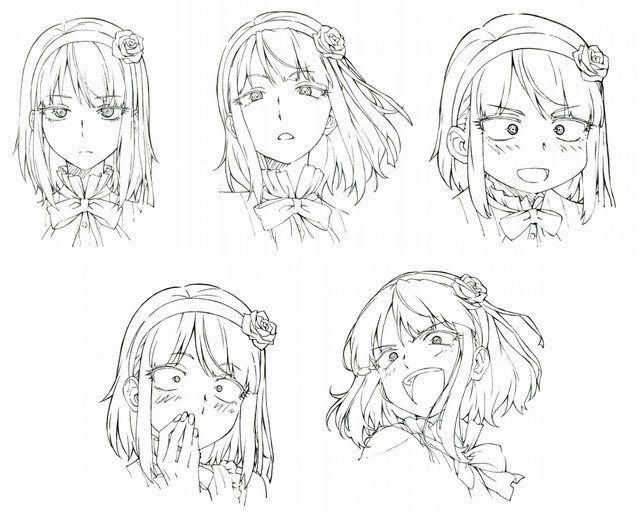 Anime Character Design Reference : Dagashi kashi anime character design hotaru shidare