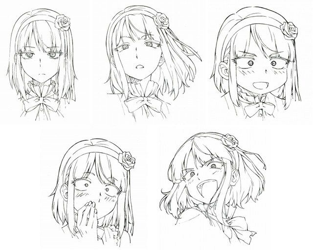 Design Your Anime Character : Dagashi kashi anime character design hotaru shidare