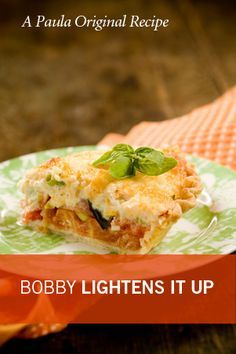 Paula Deen Bobby's Lighter Tomato Pie. I love Tomato Pie!!