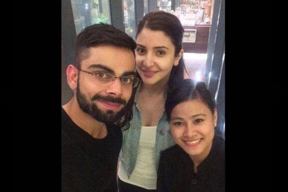 Spotted- Anuskha Sharma and Virat Kohli are in Bangalore!