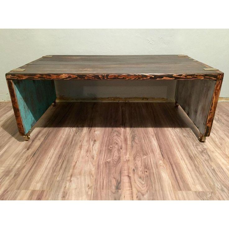 Image of Indoor/Outdoor Rustic Coffee Table/Bench