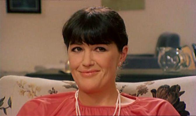 """Francesca Romana Coluzzi in """"L'infermiera di notte"""" (1979)"""