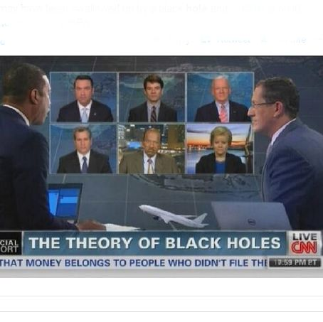 CNN entertains theory missing airliner swallowed by black hole; Cosmic mockery ensues [video] | Twitchy