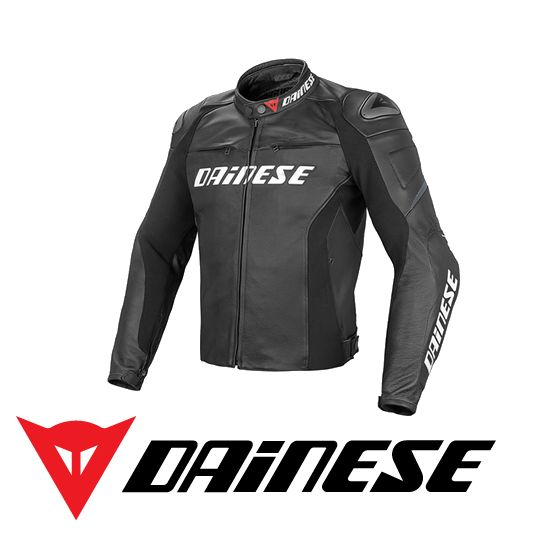 Purchase the Dainese Racing Leather Jacket from GetGeared: Feedback Rating  - Shop now