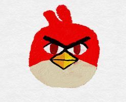 Angry Birds Wind Waker style - Red by Alex-Bird