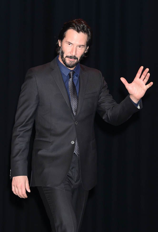 Keanu Reeves in Japan with his girlfriend to promote John Wick | Lainey Gossip Entertainment Update