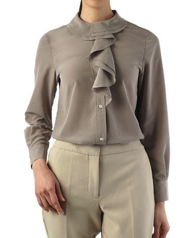 ブラウス(7 ブラウン系): レディース | メーカーズシャツ鎌倉 公式通販 | MAKER'S SHIRT KAMAKURA