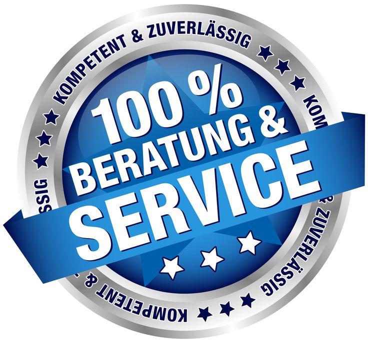 100 % Beratung & Service