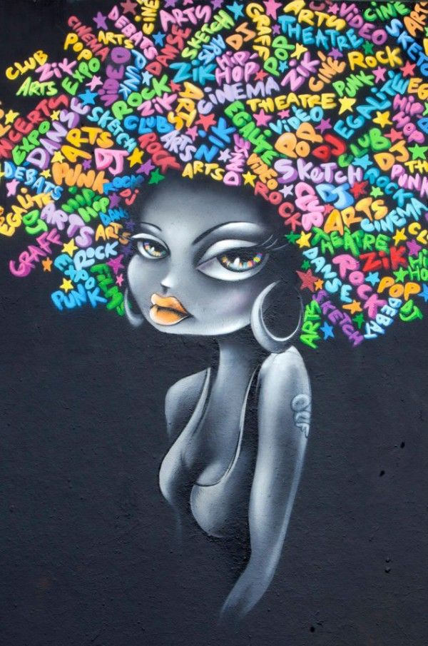 Vinie is a graffiti artist from Paris, France.