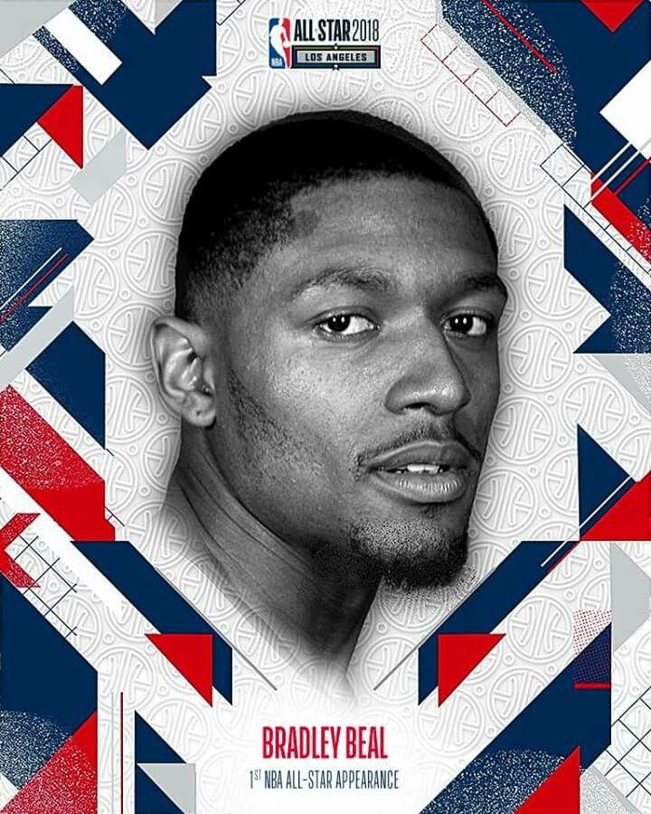 NBA All Stay 2018 Bradley Beal