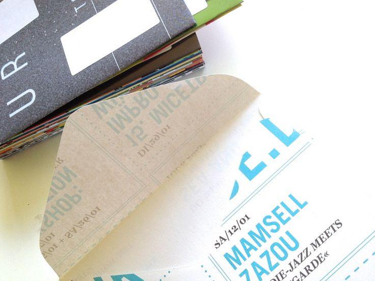 """Briefpapier & Umschläge - 25 handgemachte Kuverts """"bunt"""" - ein Designerstück von tigapigs bei DaWanda"""