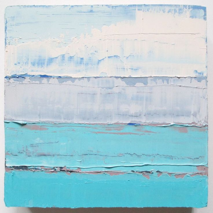 A personal favorite from my Etsy shop https://www.etsy.com/listing/291366349/ocean-painting-abstract-ocean-beach