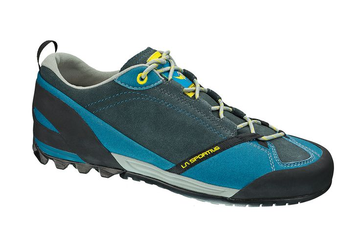Mix: An extremely comfortable approach shoe designed for many hours of wear. This model is ideal for use on hard and rocky terrain and is equipped with a climbing zone at the toe for use on first grade rock.