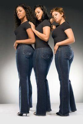 For pear-shaped women, finding a great fitting pair of jeans can be a difficult task. With a fuller rear, hips and thighs, jeans often fit tight in the thighs