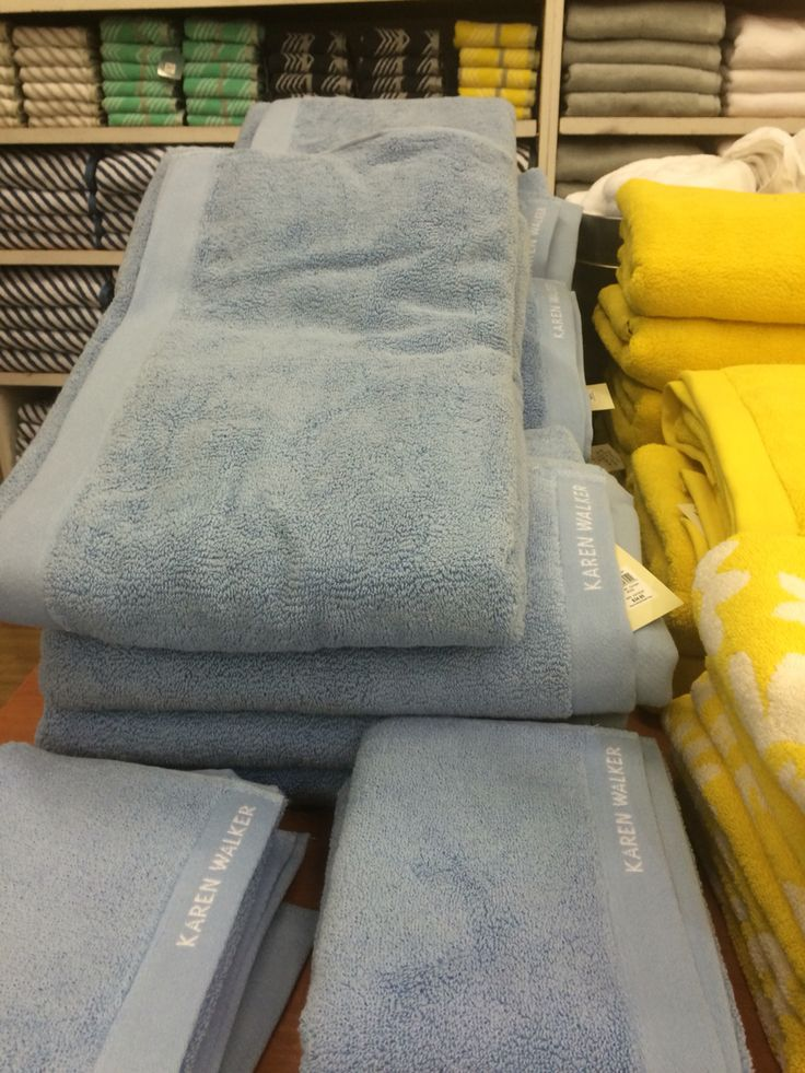 Pretty blue bath sheet 3 all from Myer