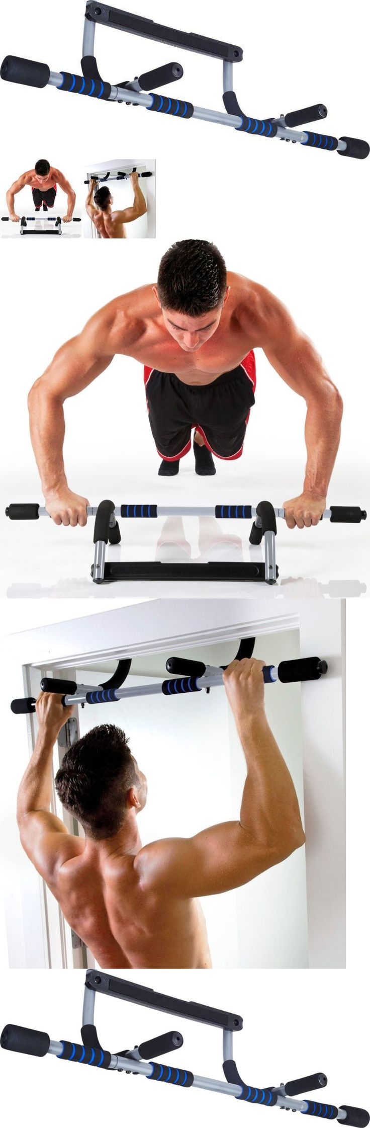 Pull Up Bars 179816: Pull Up Bar Doorway Door Mount Workout Exercise Chin Push Up Portable Home Gym -> BUY IT NOW ONLY: $32.85 on eBay!