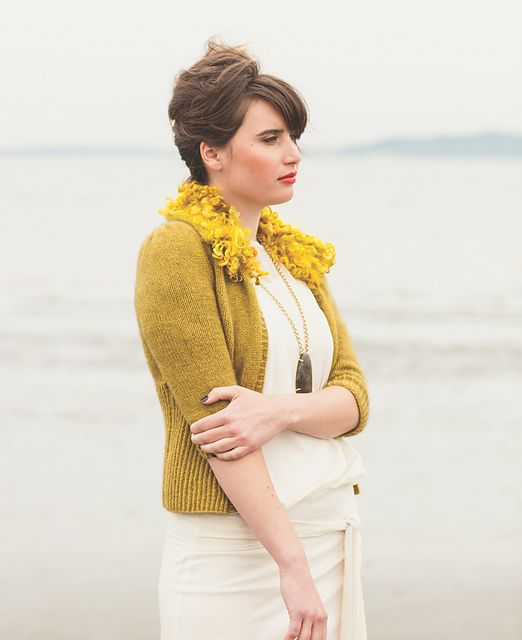 Isla Cardigan from Cirilia Rose's new book! Listen to the interview with Cirilia Rose on Pom Pom Quarterly Pomcast 7.