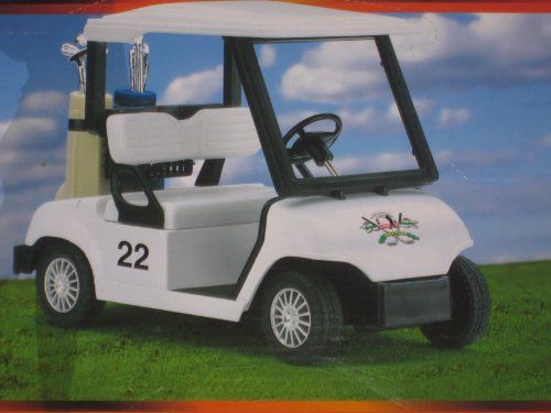 DIE CAST GOLF CART, PULL BACK ACTION