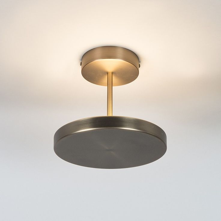 Ceiling light disco modern bronze includes led indoor