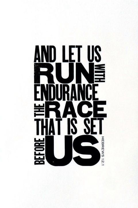 Let us run the race that is set before us