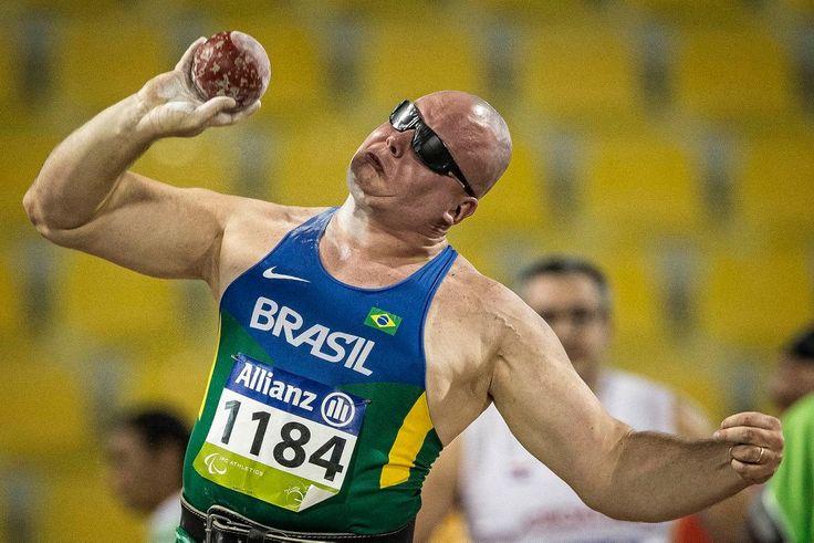 Mundial Paralimpico de Atletismo - Doha, Catar, Suhaim Bin Hamad Staduim - Alessandro da Silva, arremesso de peso F11 . #AvanteAlessandro2016, #Rio2016, #ParalympicGames2016, #JogosParalímpicosRio2016, #Torcida2016, #AllTogetherIn2016.
