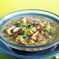 Recept - Noodlesoep met kip en broccoli - Allerhande