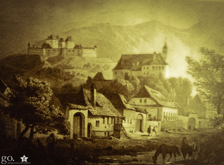 orasul vechi si cetatea din Brasov / Ludwig Rohbock