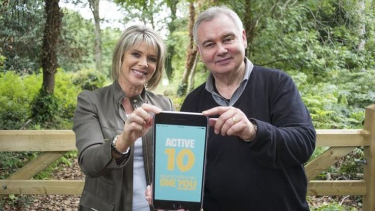 Ruth Langford and Eamonn Holmes support Active 10