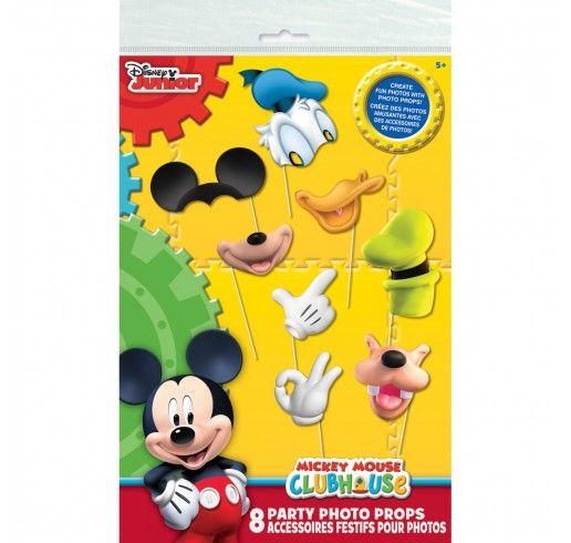 Mickey Mouse - Accessoires Pour Photomaton 8/pqt
