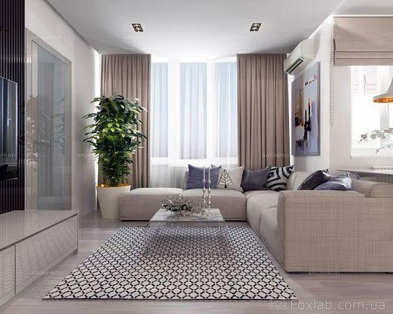 286Дизайн комнаты студии с кухней 18 кв м