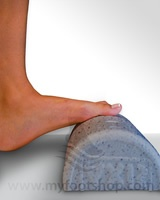 Do calf stretches 6 times a day for 60 seconds each time for planter fasciitis, and other foot problems