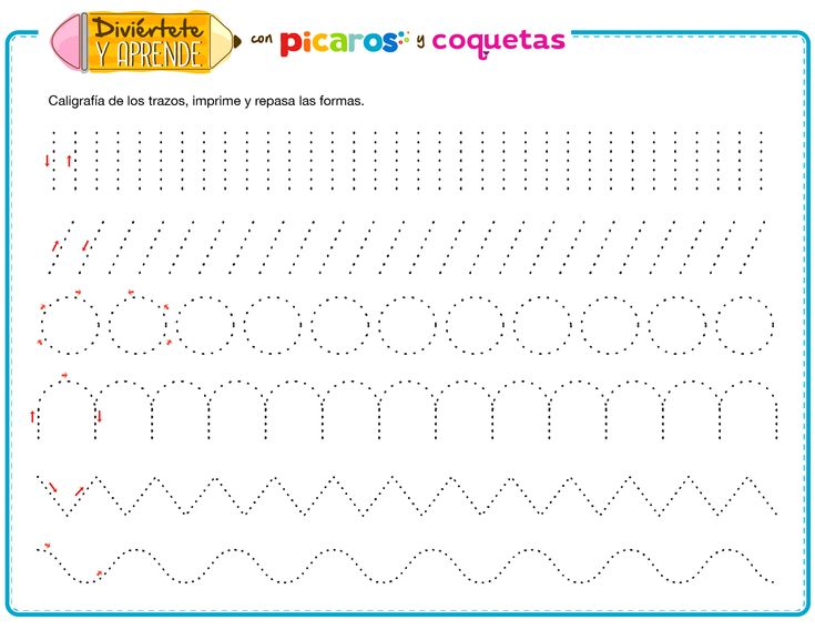ejercicios de caligrafia para tercero de primaria pdf