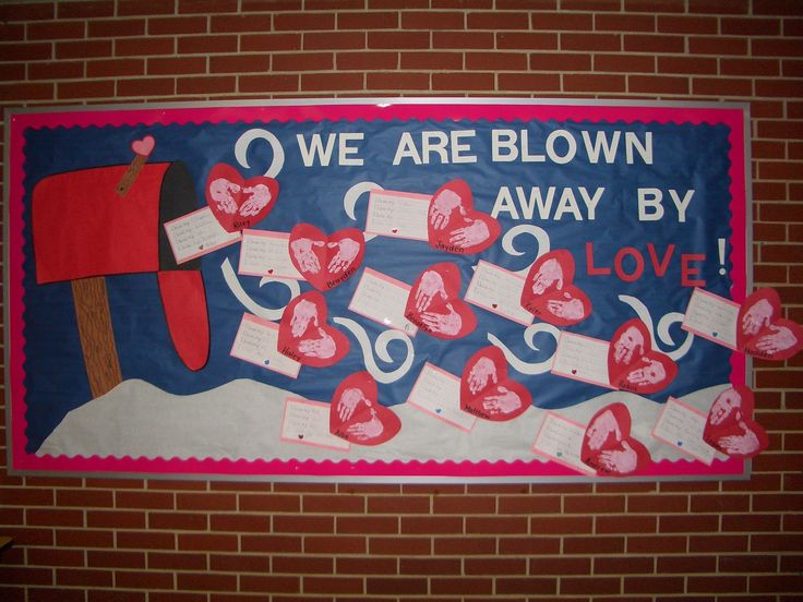 A View from a Different Angle: Our February Bulletin Board