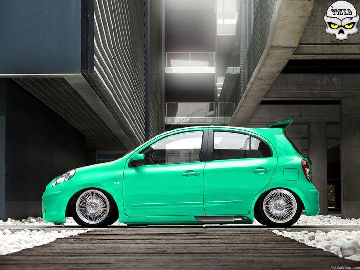 Nissan March Tuning >> Nissan Micra | Virtual Tuning Tony.D | Pinterest