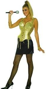 Madonna Fancy Dress Costume - Vogue Gold 90s