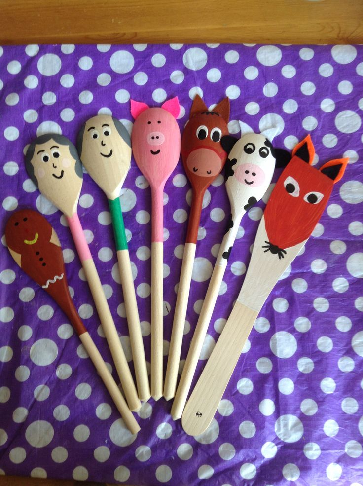 Painted Wooden Crafts