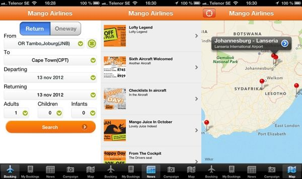 Domestic Mango airlines launches a new App for iOS users #Domestic #Mango #Airlines #Launches #Apps #iOS #Apple #Users