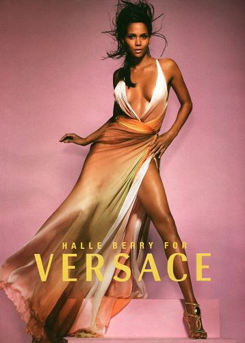 Halle Berry - Versace - If you'd like more of this visit www.styleopath.com & for a chance to win £200 worth of luxury afro hair products.
