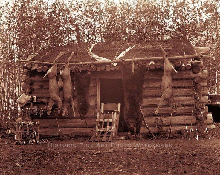 1343 besten mountain man woodcraft life bilder auf for Cabins near hunter mountain