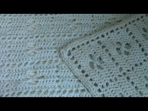 Haken - tutorial: Call the midwife babydeken