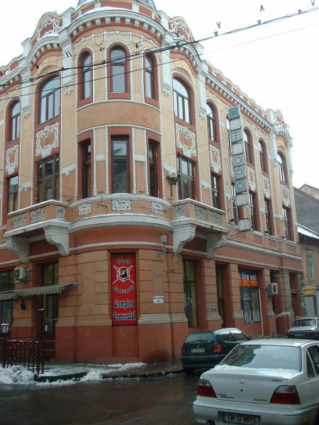 Timisoara street corner