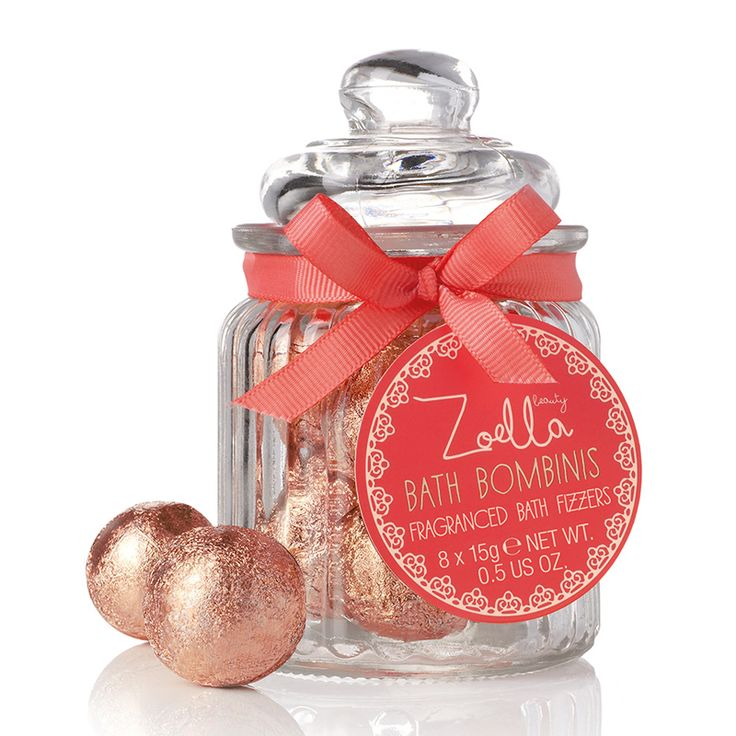 Zoella Beauty Bath Bombinis Fragranced Bath Fizzers 8 x 15g - feelunique.com
