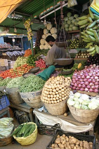 Ooty - India, Market (own picture)