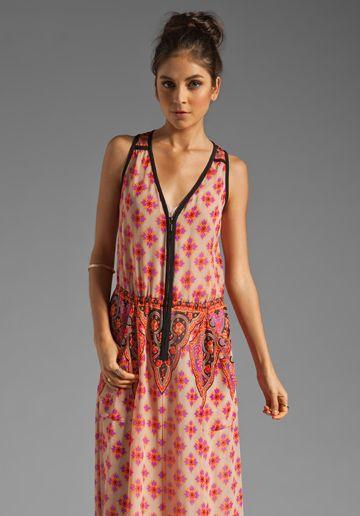 NANETTE LEPORE Electrifying Silk Dress in Ivory Multi at Revolve Clothing